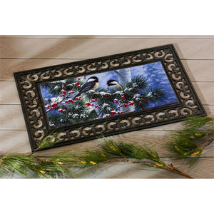 Winter Chickadee Friends Sassafras Switch Mat