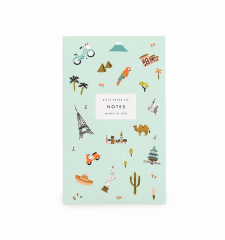 WANDERLUST POCKET NOTEPAD, Rifle Paper Co - A. Dodson's
