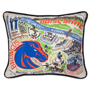 BOISE STATE UNIVERSITY PILLOW BY CATSTUDIO, Catstudio - A. Dodson's