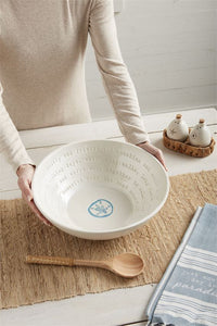 BEACH SALAD BOWL SET