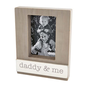 DADDY AND ME BLOCK FRAME