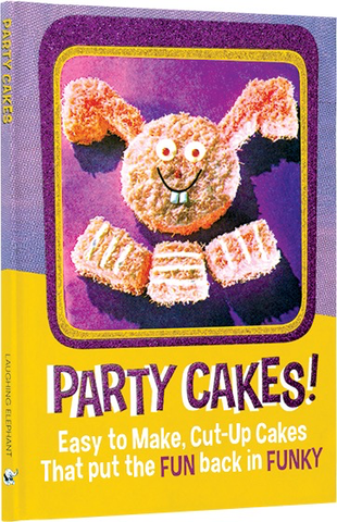 PARTY CAKES GIFT BOOK, Laughing Elepjhant - A. Dodson's