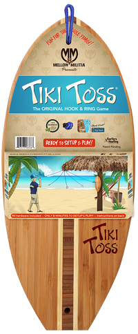 TIKI TOSS SURF EDITION by Mellow Militia, MELLOW MILITIA - A. Dodson's