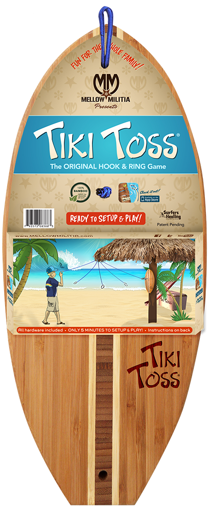 TIKI TOSS SURF EDITION by Mellow Militia