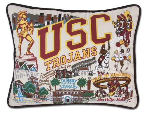 UNIVERSITY OF SOUTHERN CALIFORNIA PILLOW BY CATSTUDIO, Catstudio - A. Dodson's