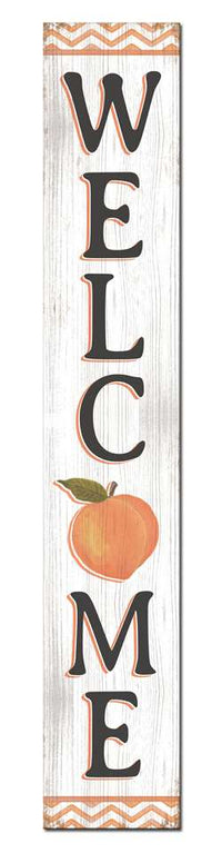 WELCOME PORCH BOARD - PEACH