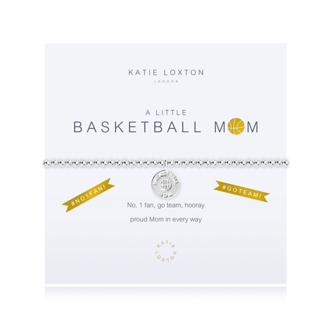 A LITTLE BASKET BALL MOM STRETCH BRACELET, Katie Loxton - A. Dodson's
