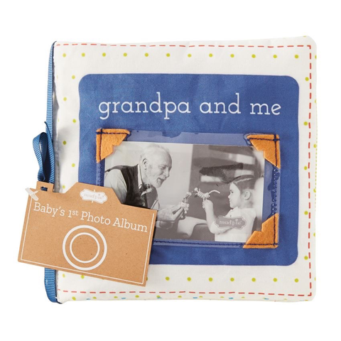 GRANDPA & ME FABRIC BOOK