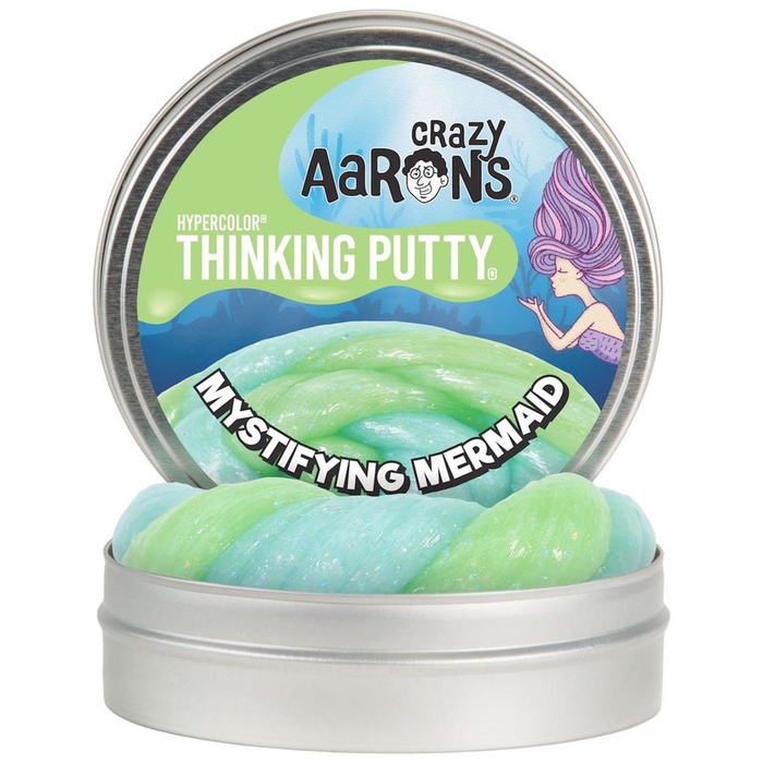 "4"" MERMAID - CRAZY AARON'S THINKING PUTTY by Crazy Aaron"