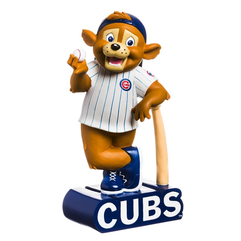 CHICAGO CUBS MASCOT STATUE, Evergreen - A. Dodson's