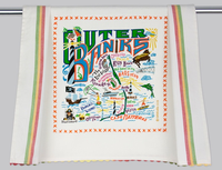 OUTER BANKS DISH TOWEL BY CATSTUDIO Catstudio - A. Dodson's
