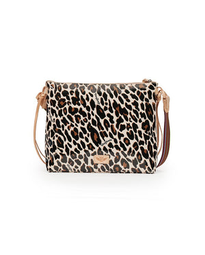 CONSUELA DOWNTOWN CROSSBODY - MONA BROWN LEOPARD