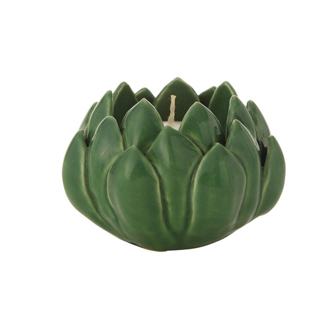 ARTICHOKE TEALIGHT HOLDER, Creative Co-Op - A. Dodson's