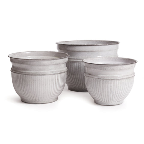 LEILANI POTS, SET OF 3