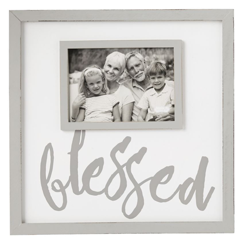 BLESSED WOOD FRAME, Mudpie - A. Dodson's