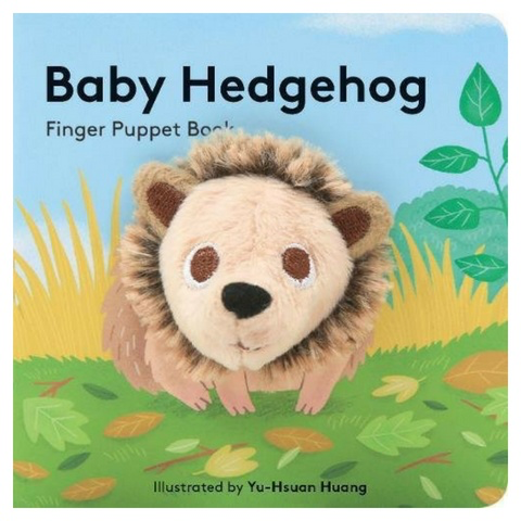 BABY HEDGEHOG FINGER PUPPET BOOK by Hachette Books