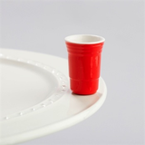 NORA FLEMING FILL ME UP RED SOLO CUP MINI A144, Nora Fleming - A. Dodson's