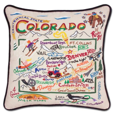 COLORADO PILLOW BY CATSTUDIO