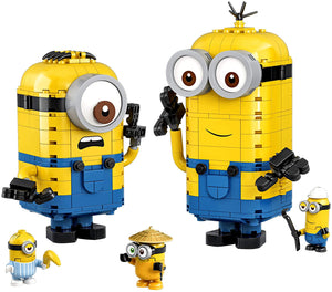 LEGO Minions Brick-Built Minions and Their Lair