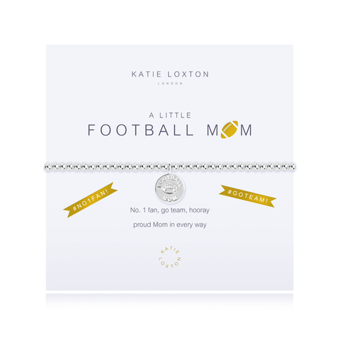 A LITTLE FOOTBALL MOM STRETCH BRACELET, Katie Loxton - A. Dodson's