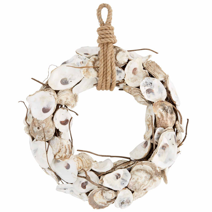 OYSTER AND TWIG WREATH