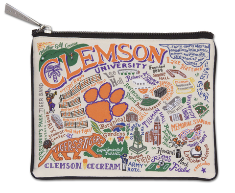 CLEMSON POUCH Catstudio Home Spring - A. Dodson's