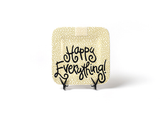 HAPPY EVERYTHING GOLD SMALL DOT MINI  PLATTER, Happy Everything - A. Dodson's