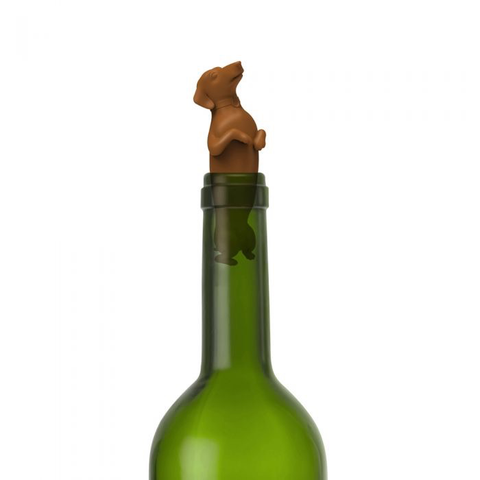 WINER DOG - BOTTLE STOPPER, Fred and Friends - A. Dodson's