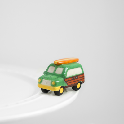 NORA FLEMING SURF'S UP WOODY WAGON MINI A127, Nora Fleming - A. Dodson's