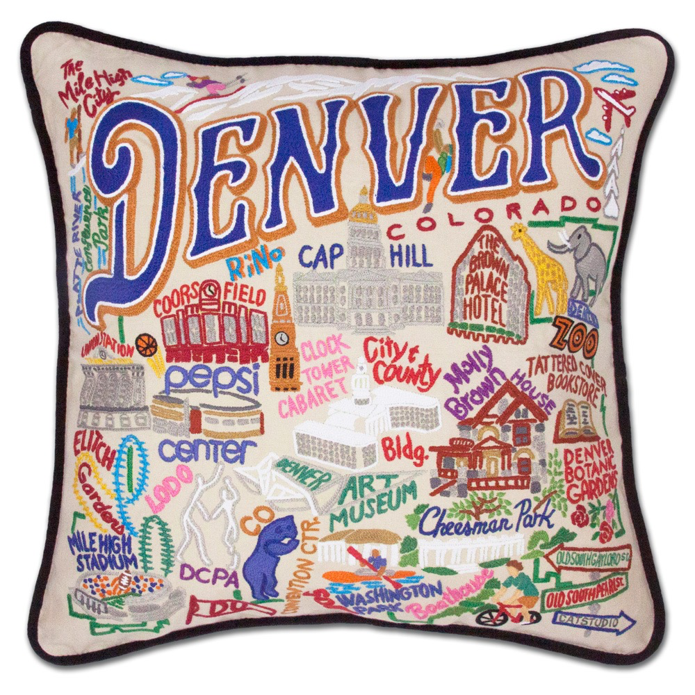 DENVER PILLOW BY CATSTUDIO Catstudio COD - A. Dodson's