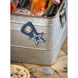 Dallas Cowboys, PVC Magnet  Bottle Opener