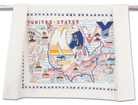 NAVY DISH TOWEL BY CATSTUDIO, Catstudio - A. Dodson's