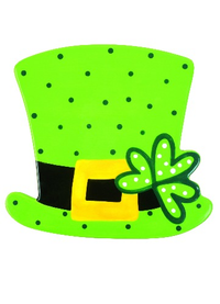 HAPPY EVERYTHING LEPRECHAUN HAT MINI ATTACHMENT Happy Everything - A. Dodson's