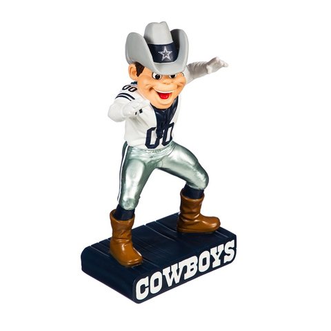 DALLAS COWBOYS MASCOT STATUE, Evergreen - A. Dodson's