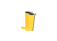 HAPPY EVERYTHING YELLOW WELLIES BIG ATTACHMENT