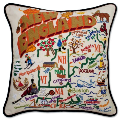 NEW ENGLAND PILLOW BY CATSTUDIO