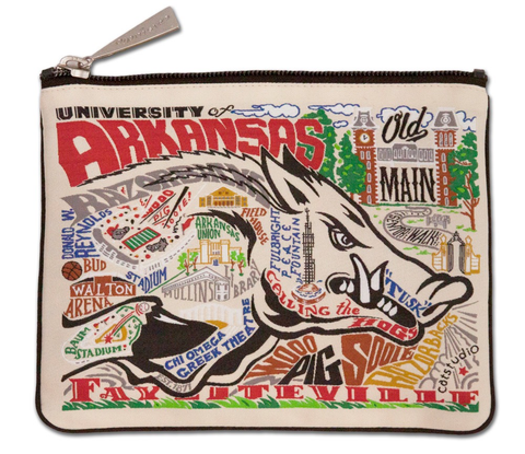 UNIVERSITY OF ARKANSAS POUCH, Catstudio - A. Dodson's