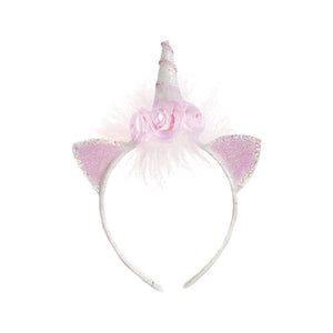 UNICORN FLOWER HEADBAND