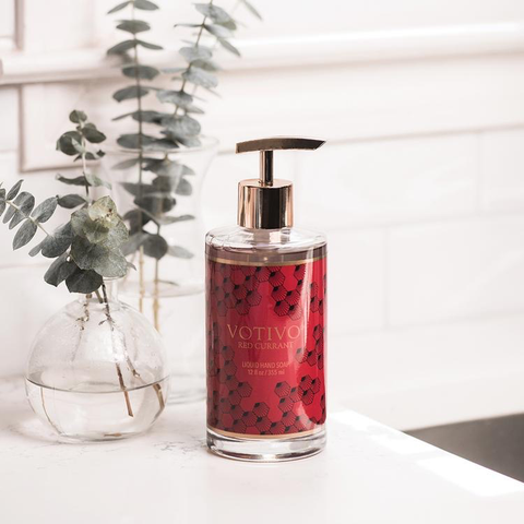 RED CURRANT LIQUID SOAP, Votivo - A. Dodson's