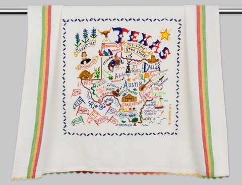 TEXAS DISH TOWEL BY CATSTUDIO, Catstudio - A. Dodson's