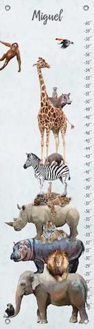 JUNGLE PALS GROWTH CHARTS