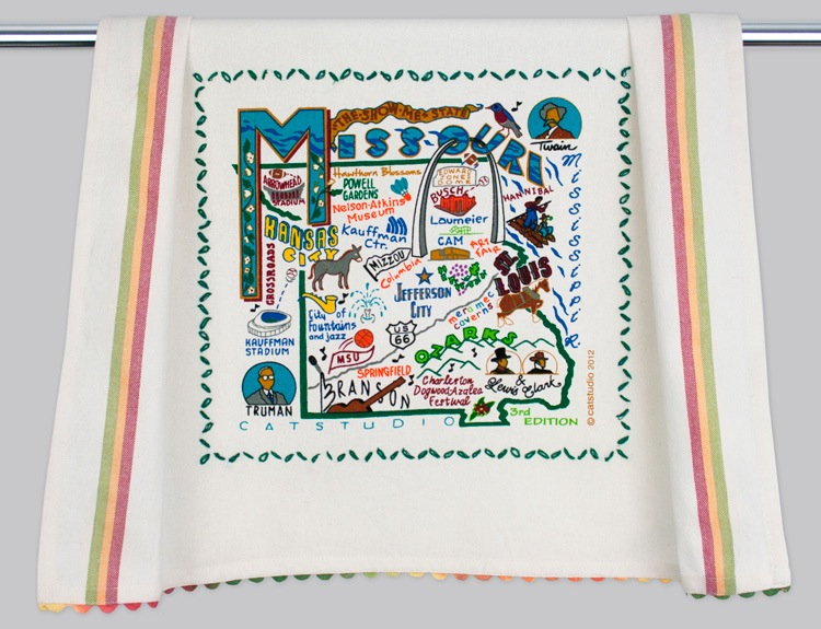 MISSOURI DISH TOWEL BY CATSTUDIO, Catstudio - A. Dodson's