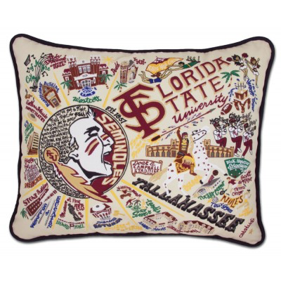 FLORIDA STATE UNIVERSITY PILLOW BY CATSTUDIO