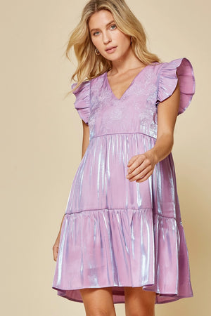 Mira Tiered Babydoll Dress