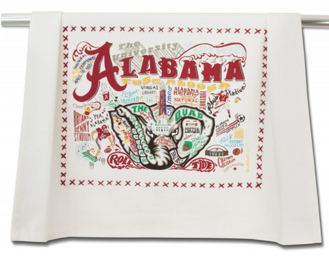 UNIVERSITY OF ALABAMA DISH TOWEL Catstudio - A. Dodson's