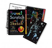 SCRATCH & SKETCH TRAVEL TRACE ALONG