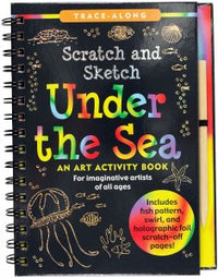 SCRATCH & SKETCH UNDER THE SEA TRACE ALONG