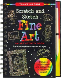 SCRATCH & SKETCH FINE ART TRACE ALONG
