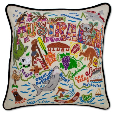 AUSTRALIA PILLOW BY CATSTUDIO, Catstudio - A. Dodson's
