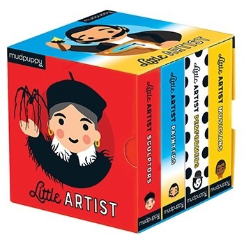 LITTLE ARTIST BOARD BOOK SET, CHRONICLE BOOKS - A. Dodson's